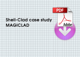 SHell Clad case studies for magiclad