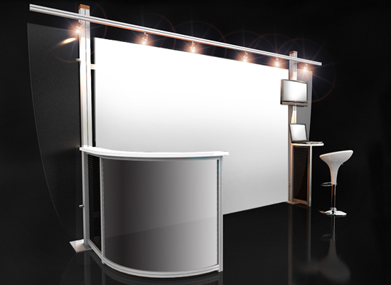 Space only exhibition stand designs