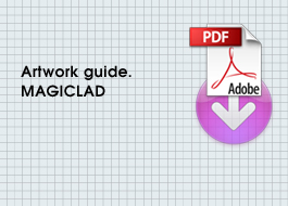 Artwork guides for Magiclad