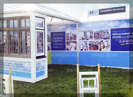 StandBuilder PLUS System - Tailor made stand for Heathfield Windows