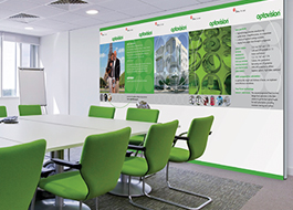 Promowalls for offices and work spaces