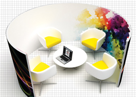 Meeting pods to improve your office graphics