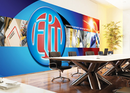 Office interiors and graphics