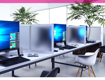 Office enhancements and desktop dividers