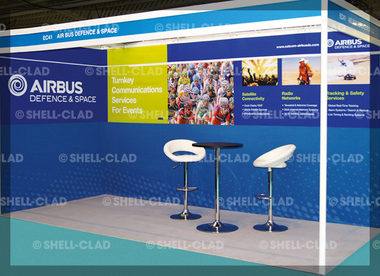 Airbus Fabriclad shell scheme