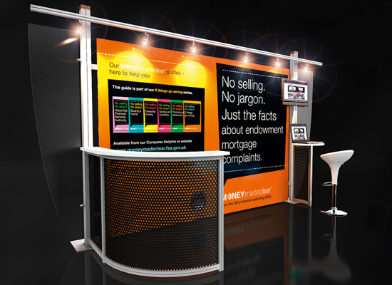 Shell Clad Exhibition Stand : Exhibition stand design portable displays shell clad uk